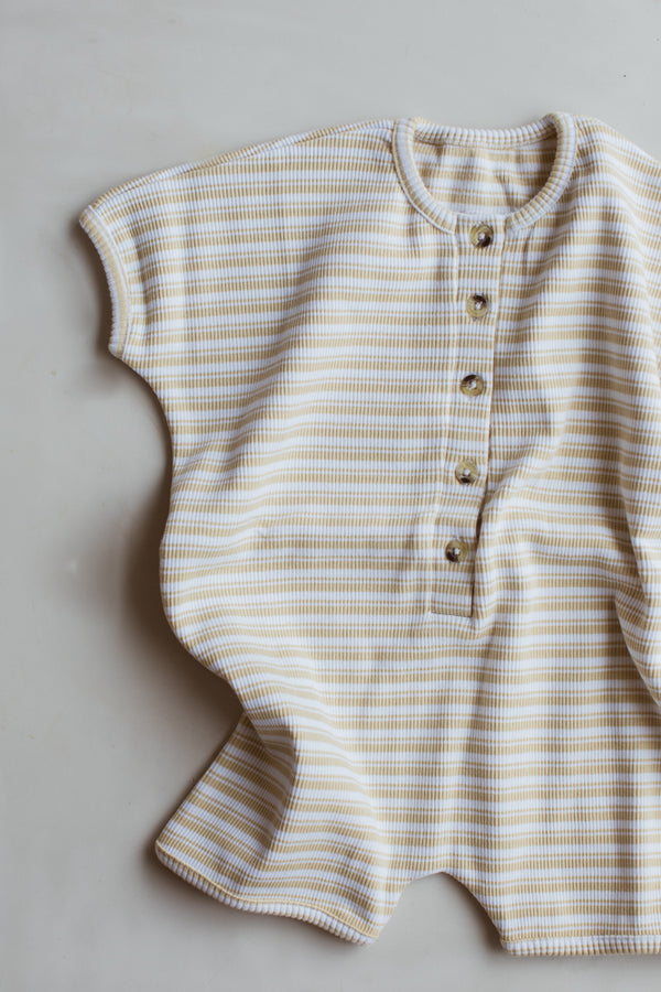 The Weekly Playsuit - citrus stripe