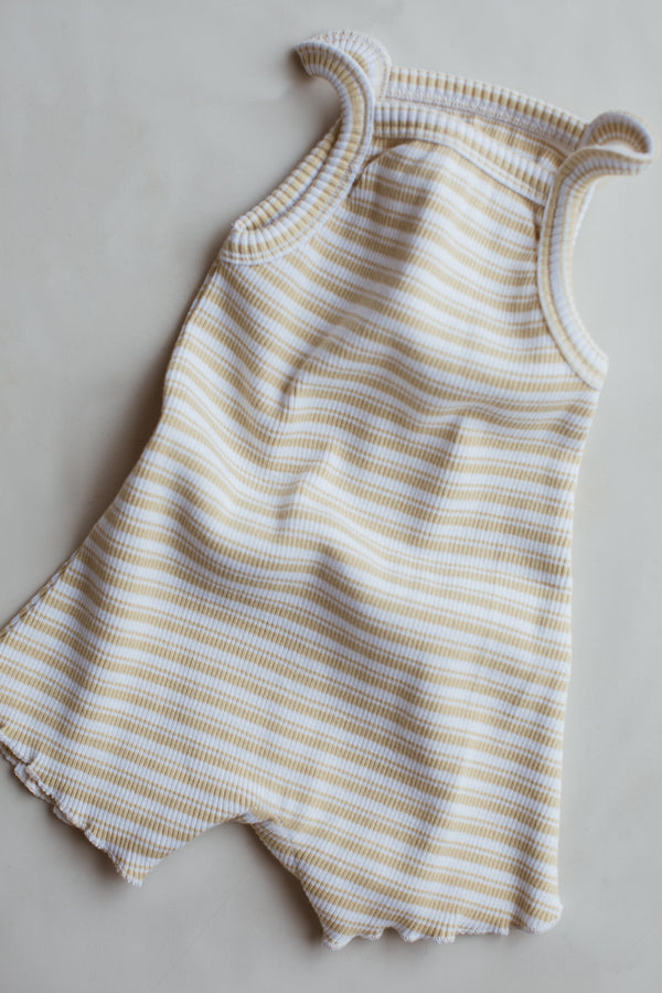 The Weekly Onesie - Citrus Stripe