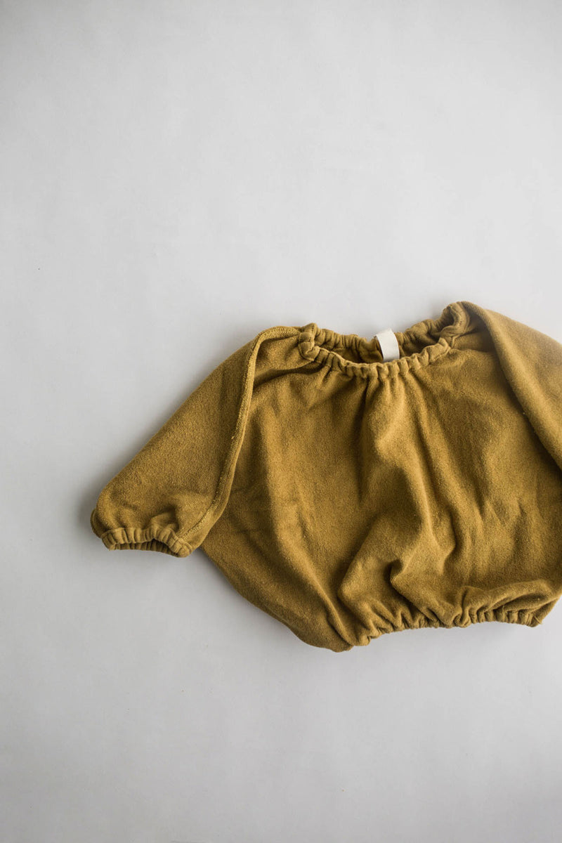 the exclusive pullover - mustard