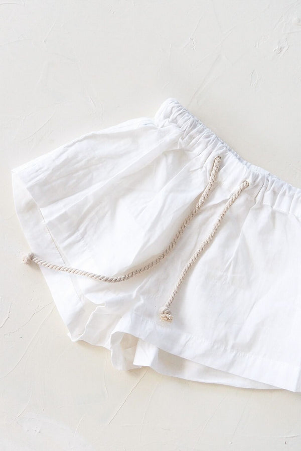 The Simple Organic Short - White