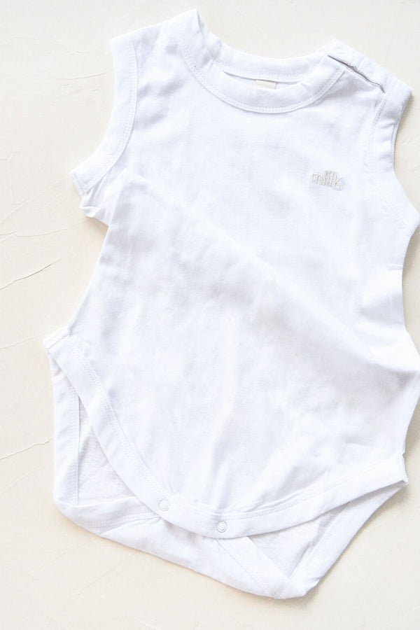 The Original Organic Onesie - White