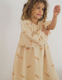 The Millk Signature Pullover Dress - Toffee