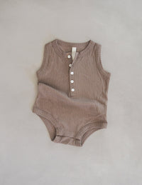 The Base Onesie - Chocolate
