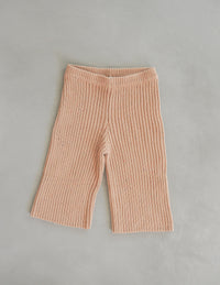 The Chunky Sprinkle Knit Pant - Toffee