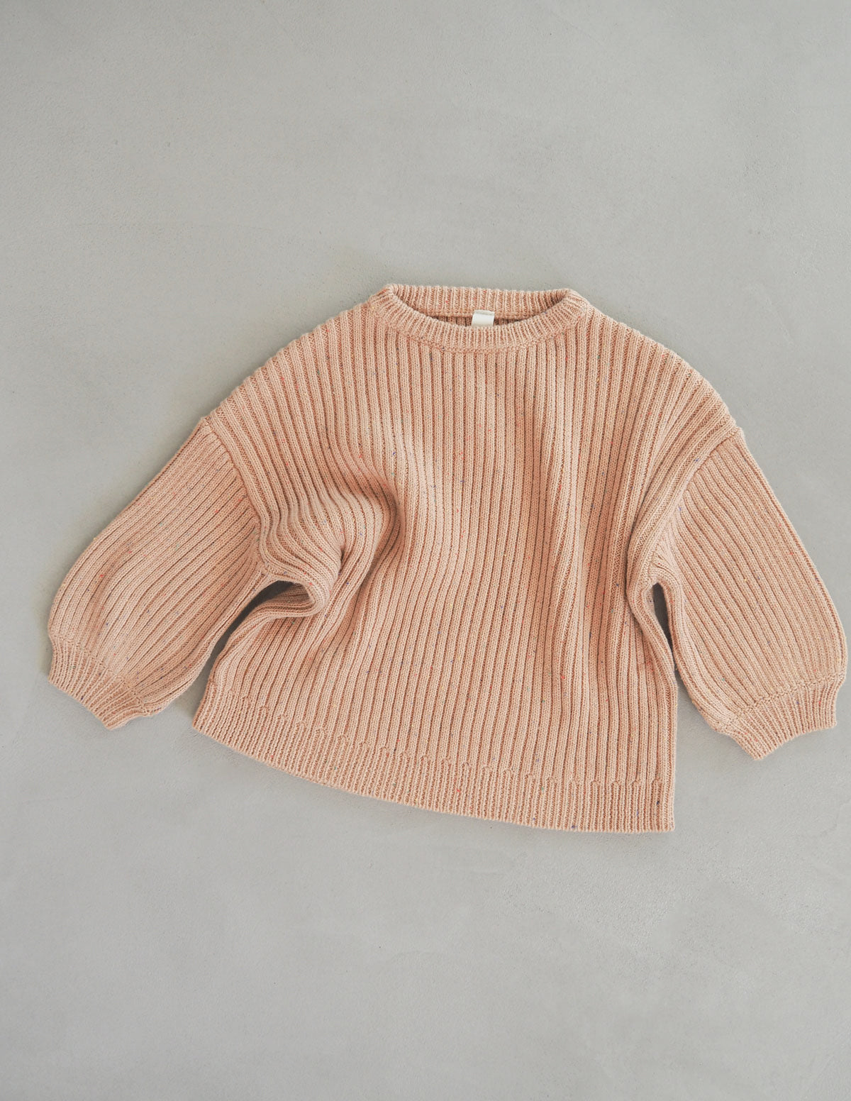 The Chunky Sprinkle Jumper - Toffee