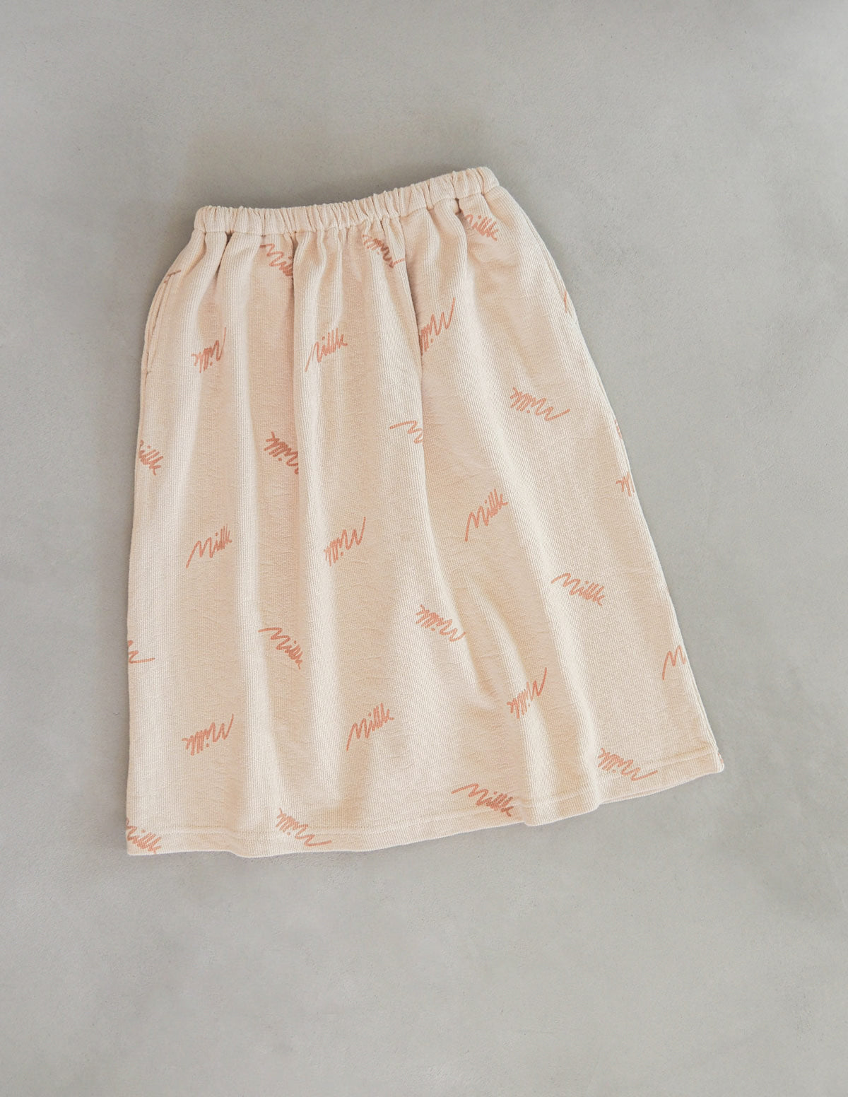 The Millk Signature Skirt - Toffee