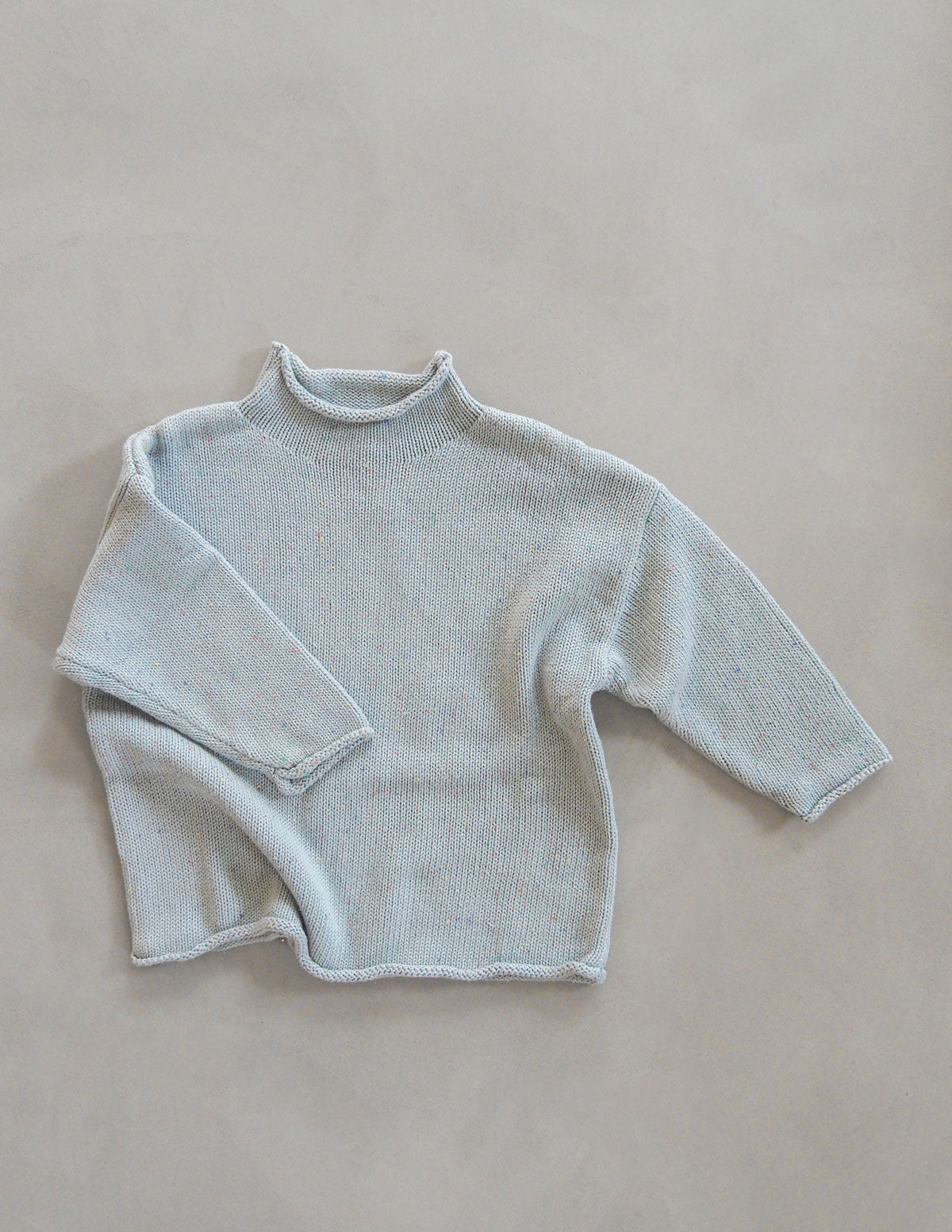 the sprinkle relaxed jumper — seaglass