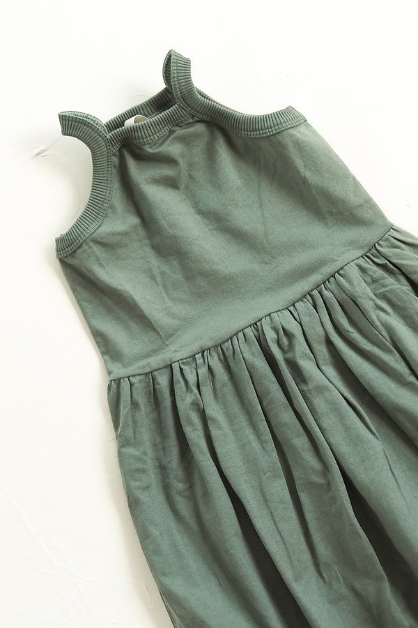 The Basic Dress - Moss