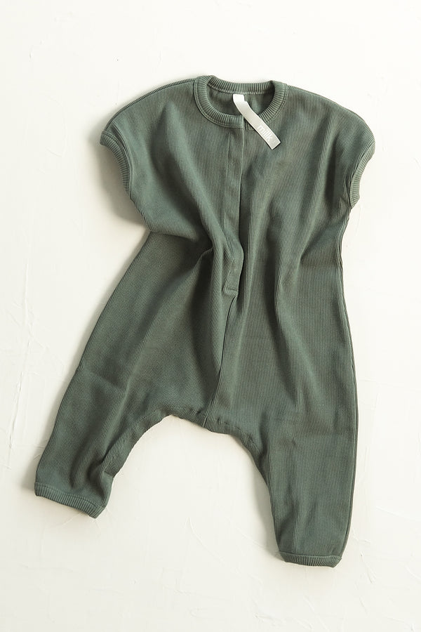The Weekender Jumpsuit - Moss