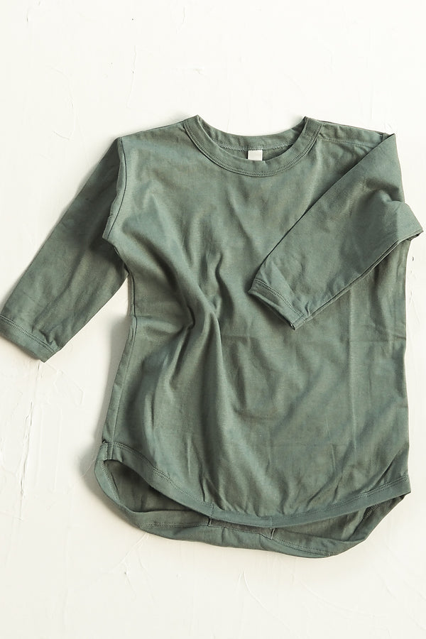 The Basic Top Onesie - Moss