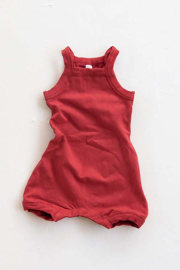 The Key Playsuit - Red