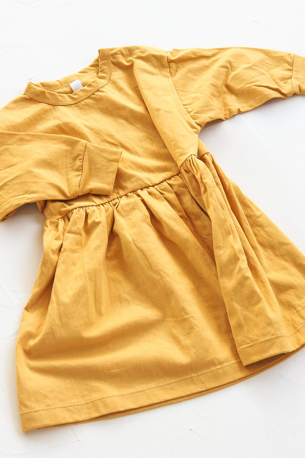 The Basic Oversize Dress - Golden