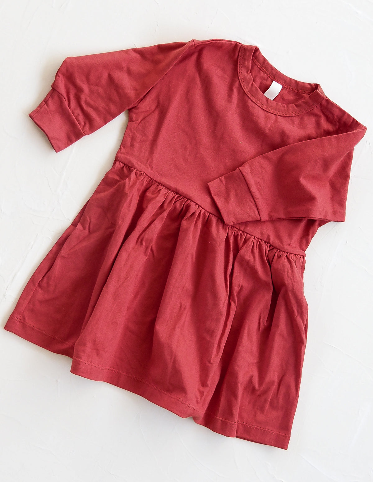 The Basic Oversize Dress - Red