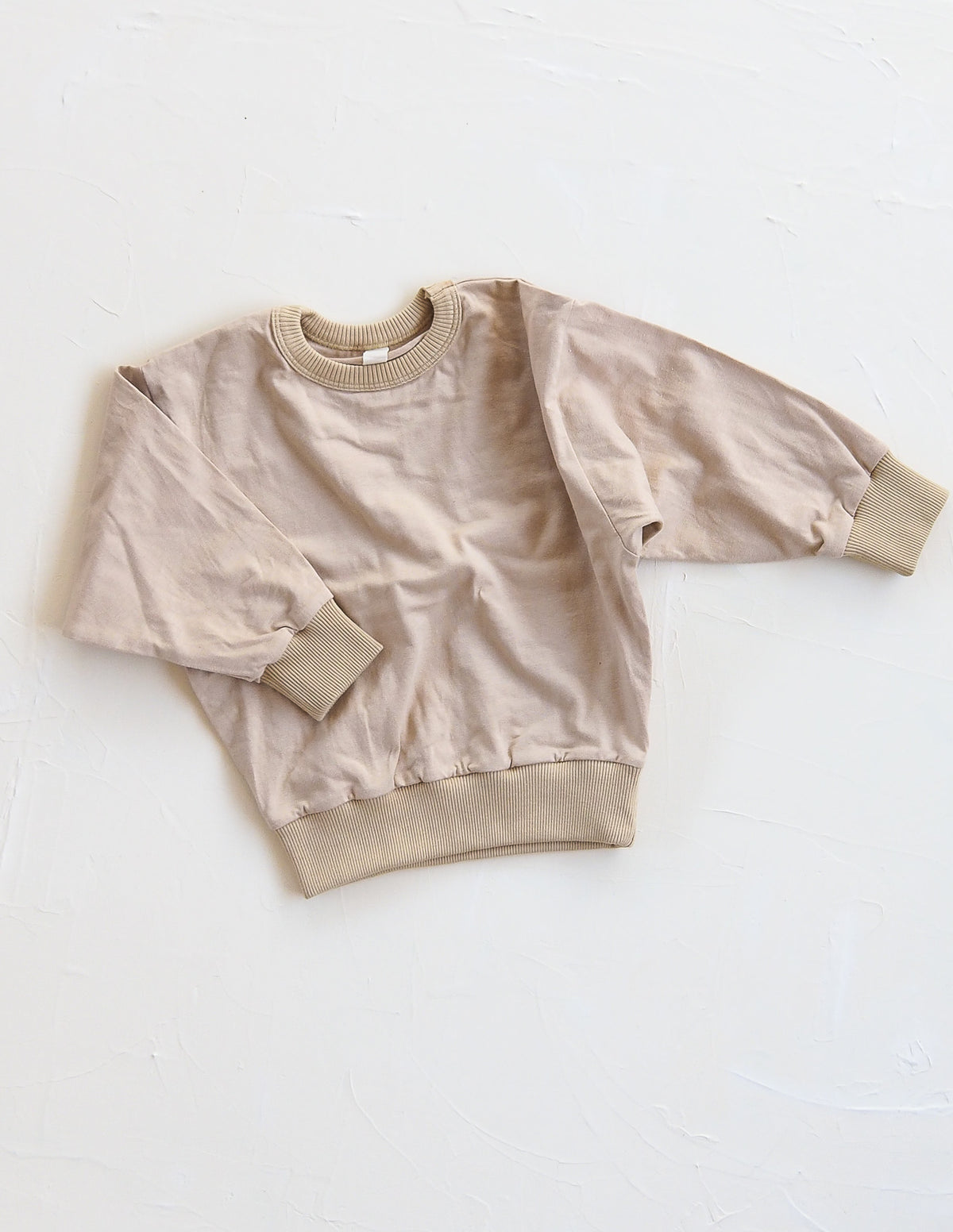 The Basic Sweat Top - Sand