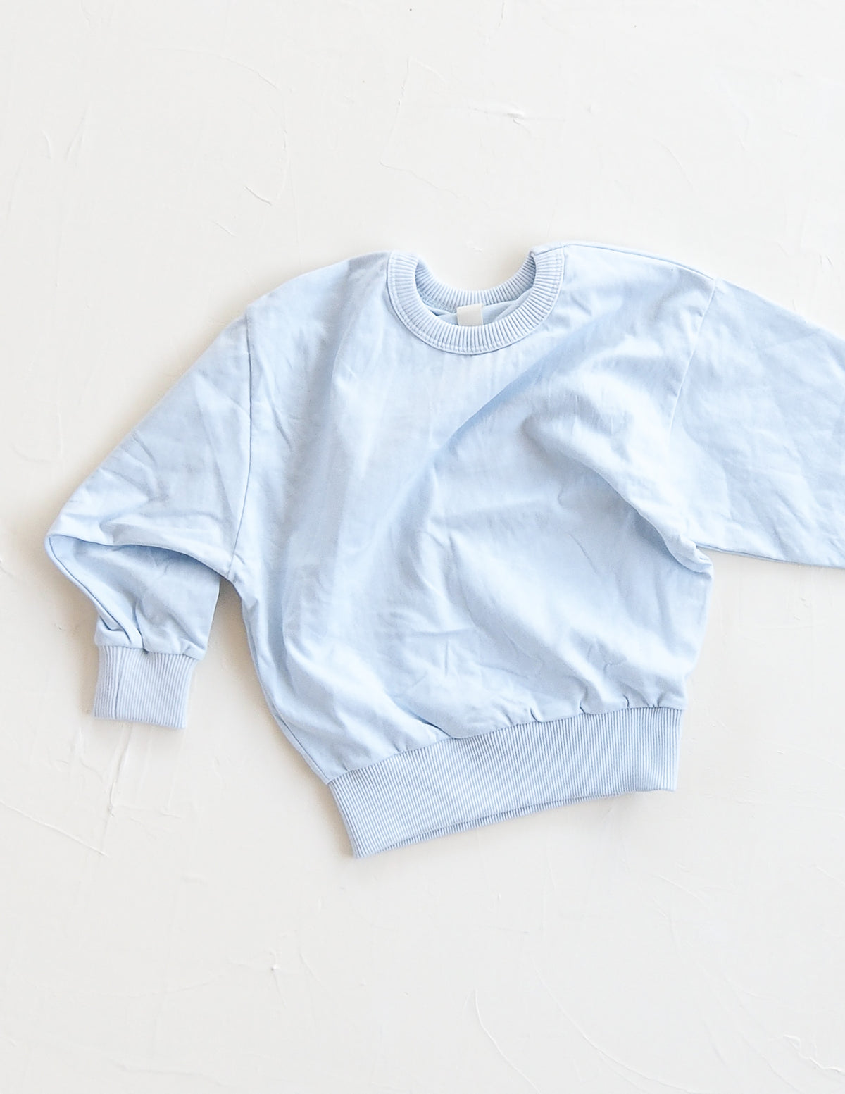 The Basic Sweat Top - Sky