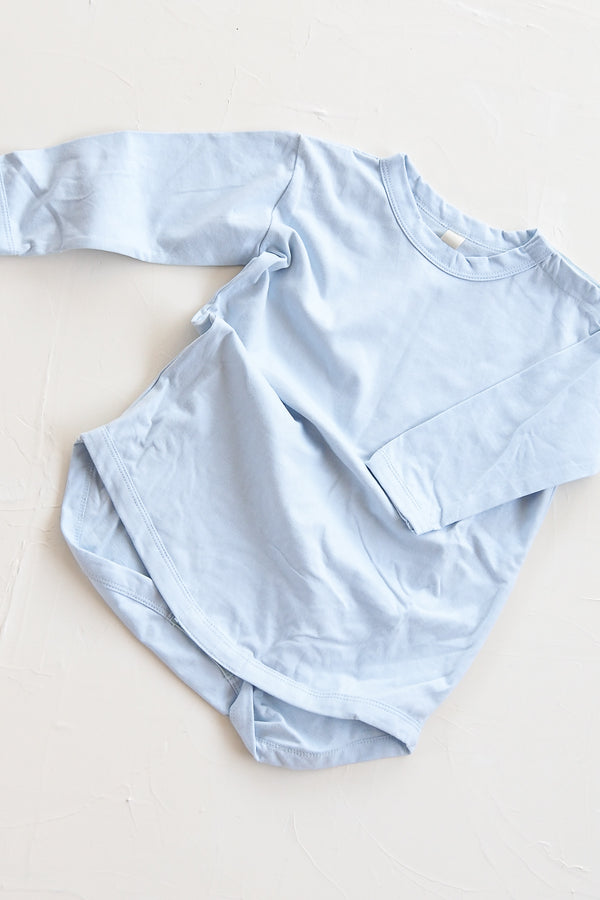 The Basic Top Onesie - Sky