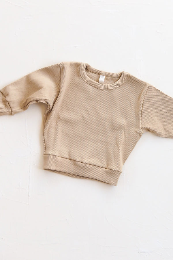 The Weekender Jumper - Sand