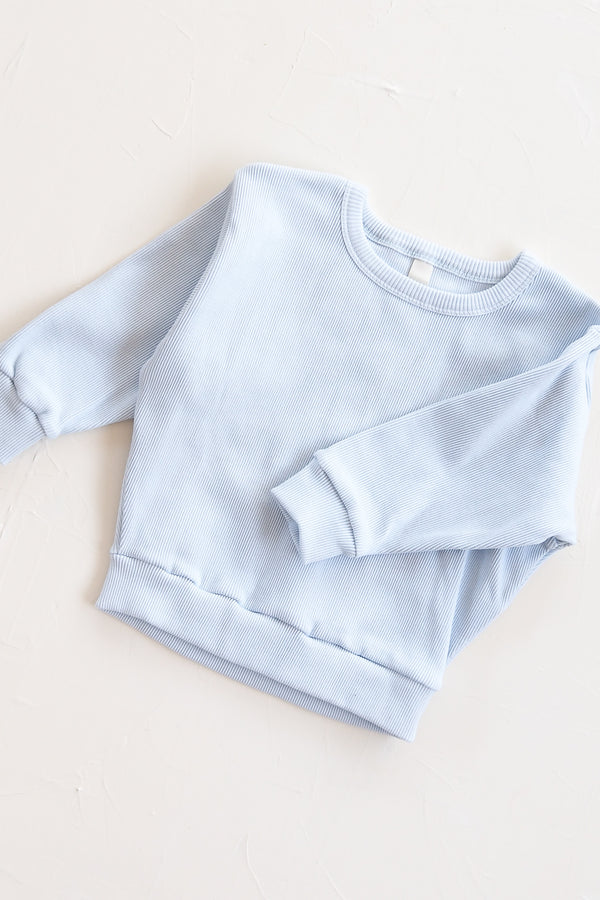 The Weekender Jumper - Sky