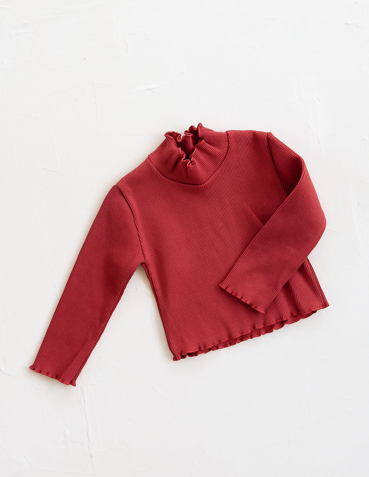 The Weekender Crop - Red