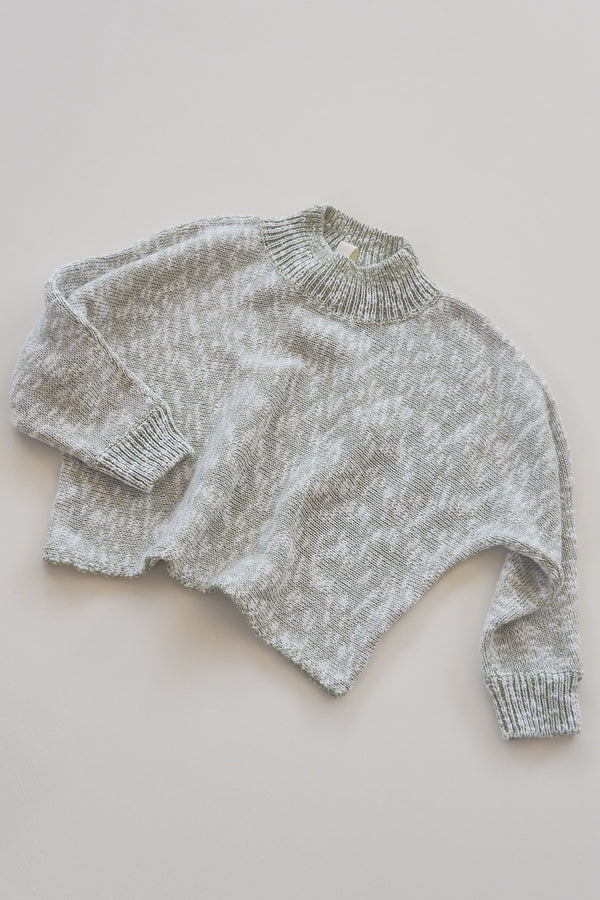 The Anyday Jumper - Olive Marle