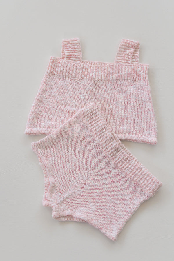 The Anyday Singlet - Strawberry Marle