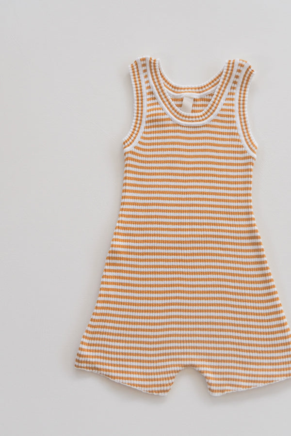 The Spontaneous Onesie - Golden Stripe