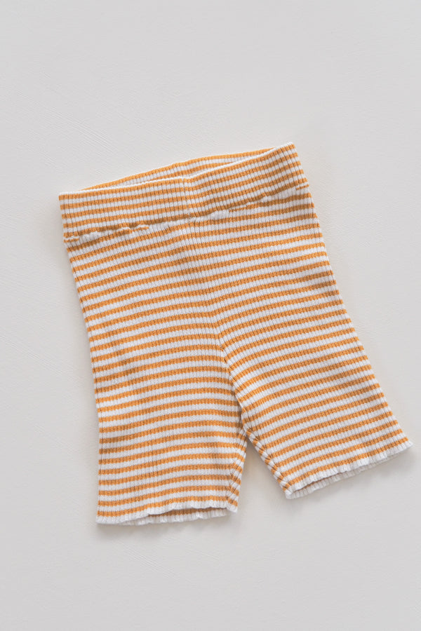 The Spontaneous Bike Short - Golden Stripe