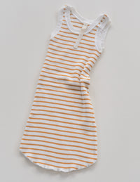 The Spontaneous Dress - Golden Stripe