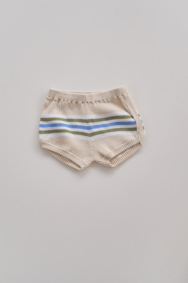 The Adventure Shortie - Natural Stripe