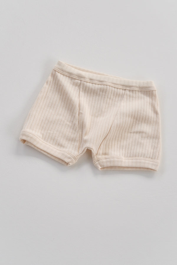 The Base Boy Short - Almond