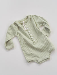 The Base Seasonal Onesie - Olive