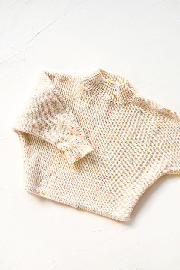 Seasonal Knit Jumper - Almond Sprinkle