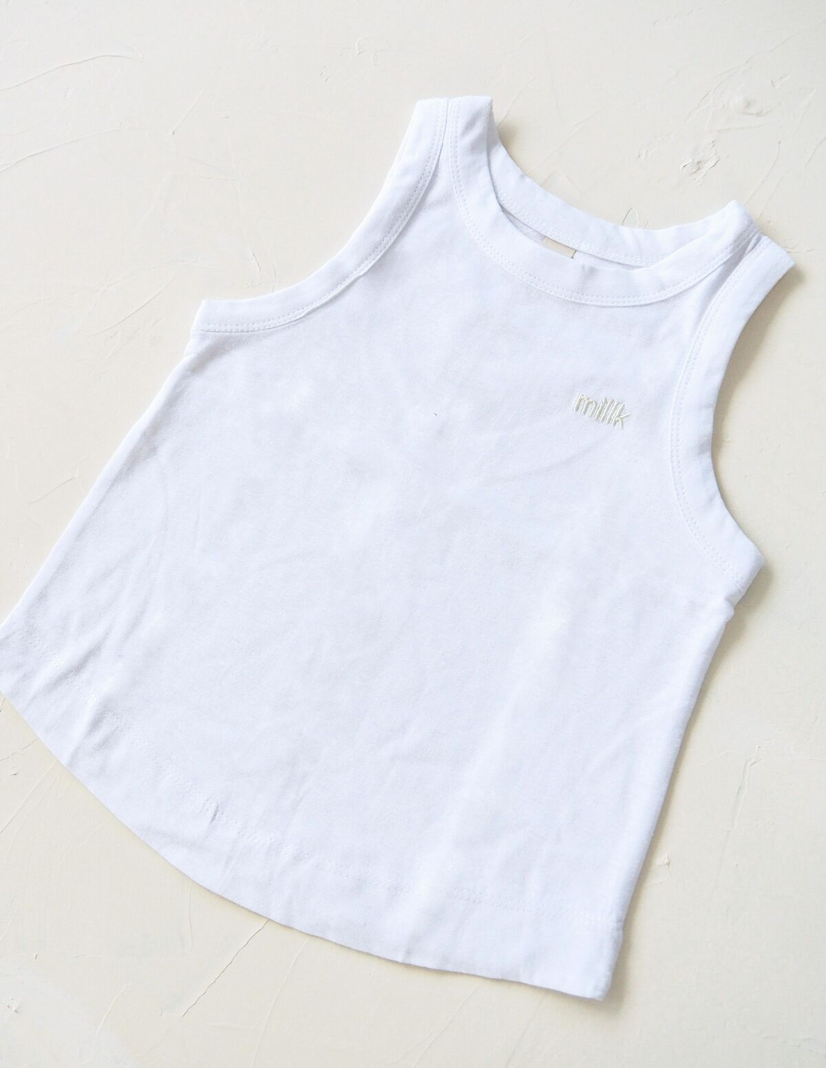 The Original Organic Tank - White