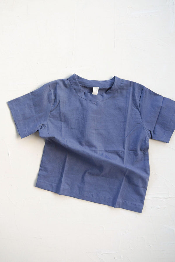 The Simple Organic Tee - blue