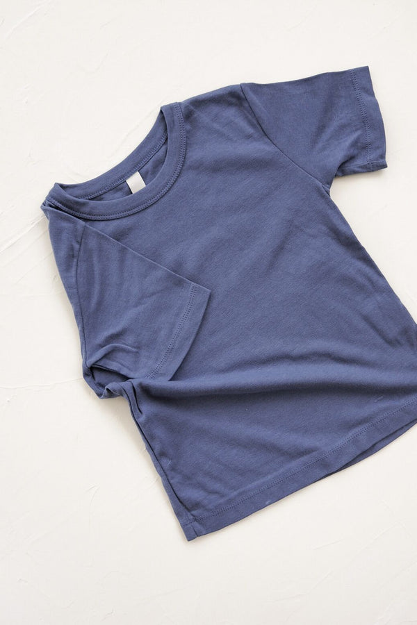 The Ordinary Tee - blue