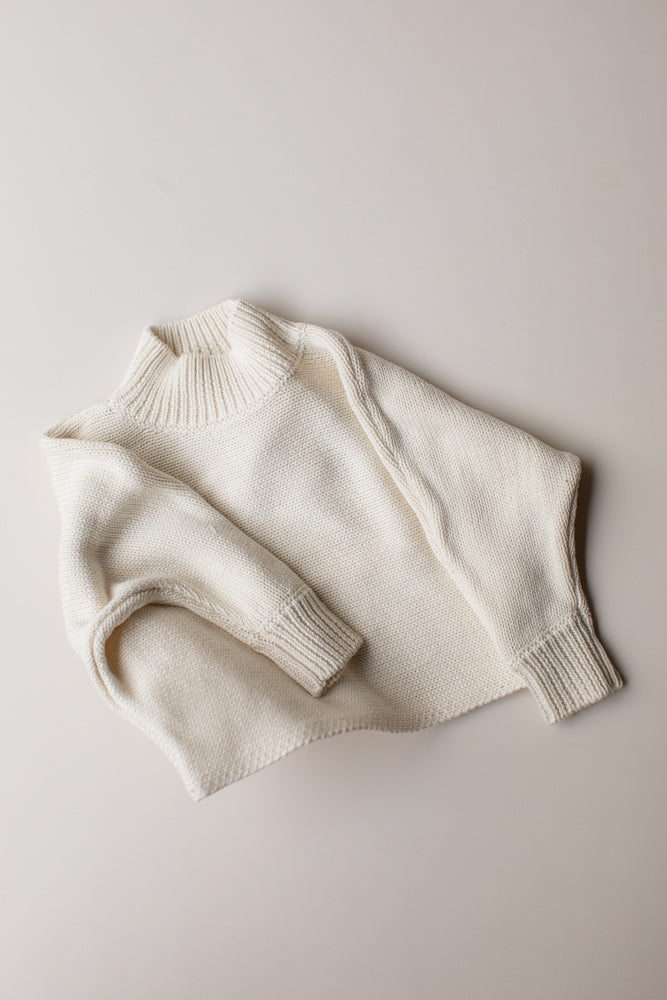Seasonal Knit Jumper - Cream
