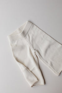 Seasonal Knit Pant - Cream