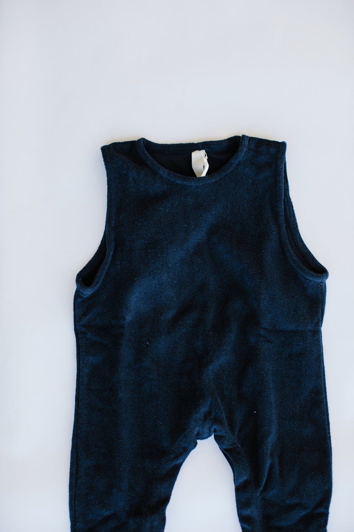 the exclusive overall - navy