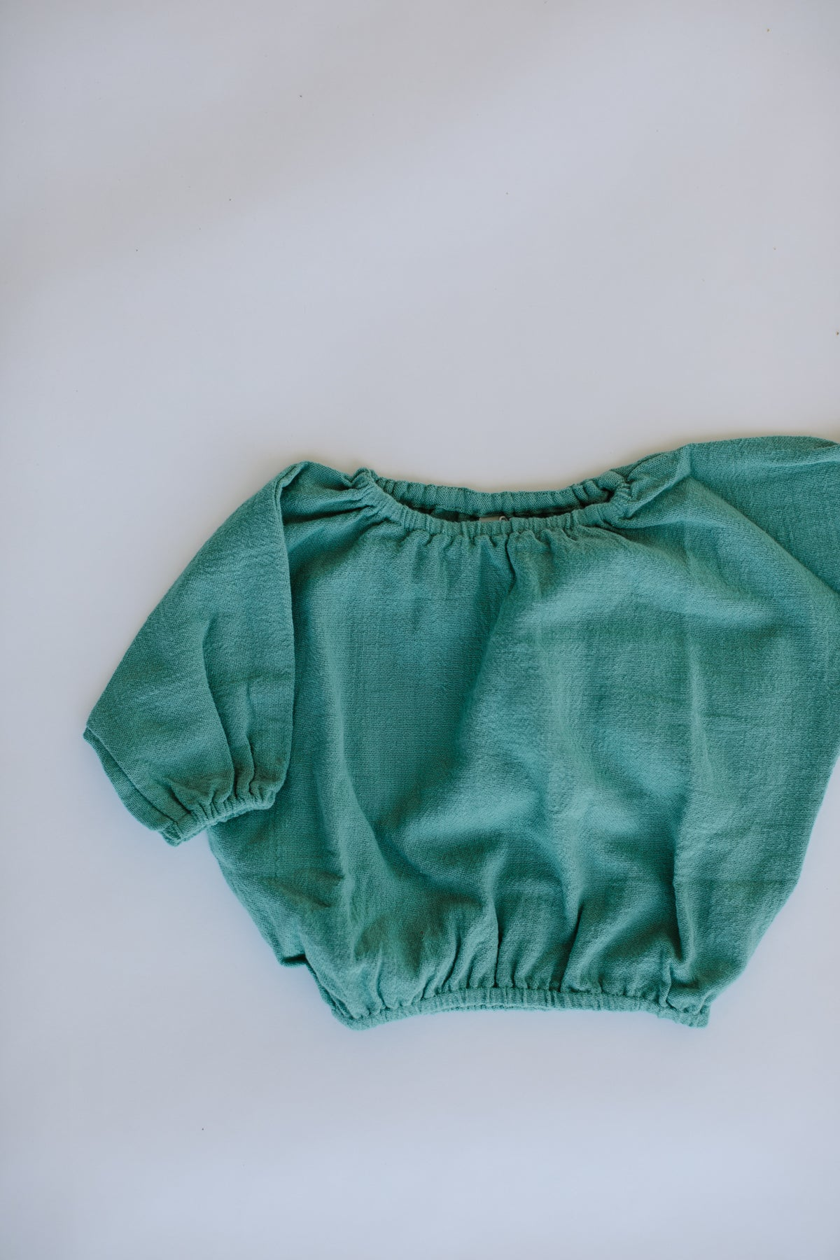 the daily pullover - emerald