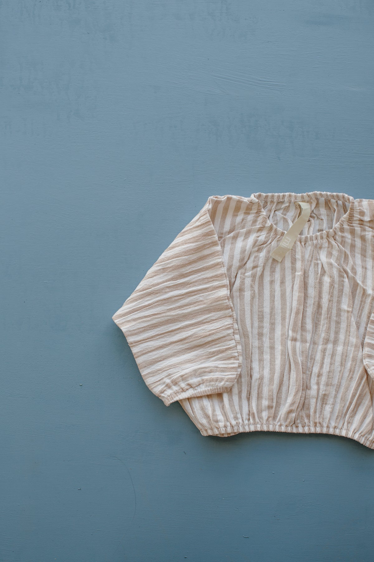 the occasional pullover - tan stripe