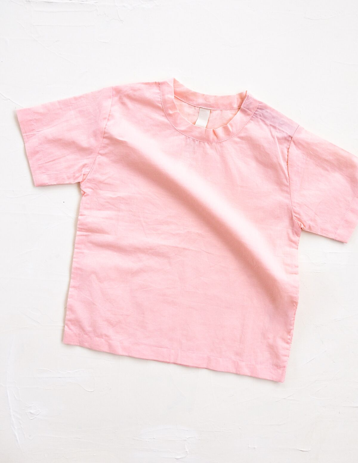 The Simple Organic Tee - Pink