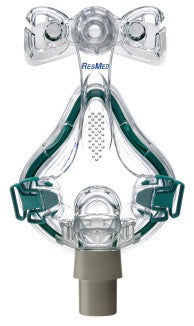 Mirage Quattro™ full face mask frame system with cushion – no headgear