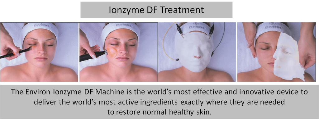 Embrayce Beauty and Medispa Environ Vitamin Infusion facial using the Environ DF machine