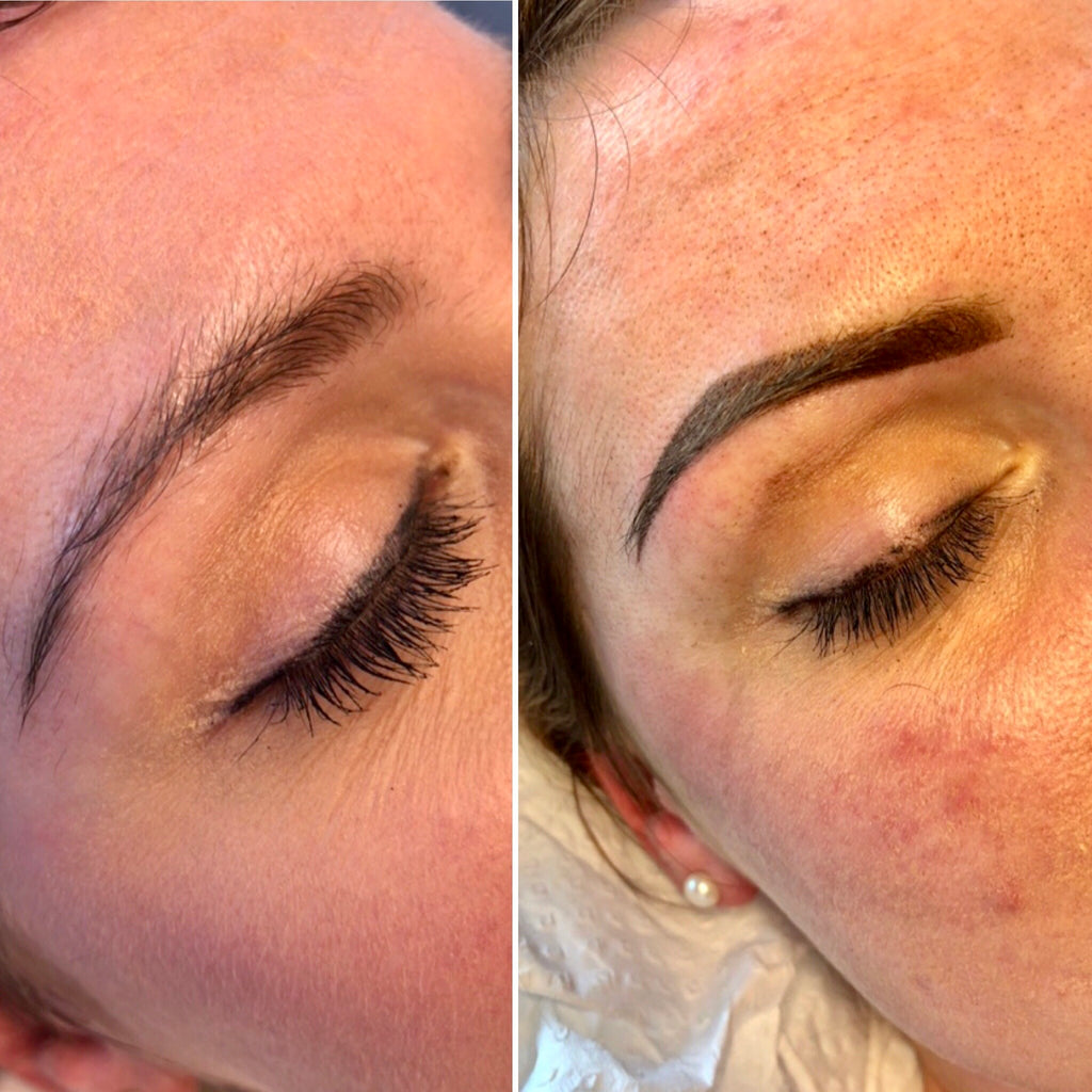 Powder Brows Before After