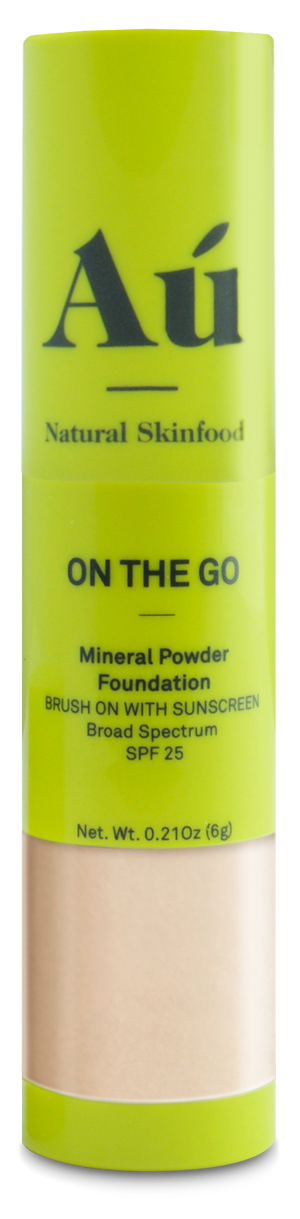 On The Go - Brush on Mineral Powder SPF25 - Light, Medium & Dark