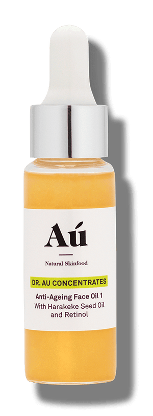 Dr Au Concentrates - Anti-Ageing face Oil 1 with Harakeke Seed Oil & Retinol