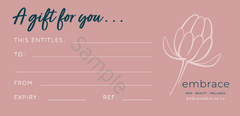 Gift Voucher Embrace Skin and Beauty