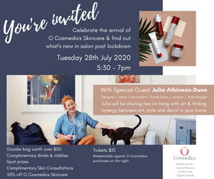 Ticket - Salon Event 28th July 2020