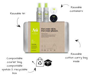 Travel Pack Essentials - Au Natural Skinfood