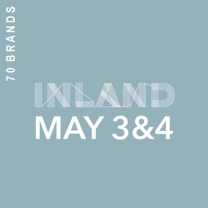 Toronto: Maguire in INLAND, May 3rd - 4th.